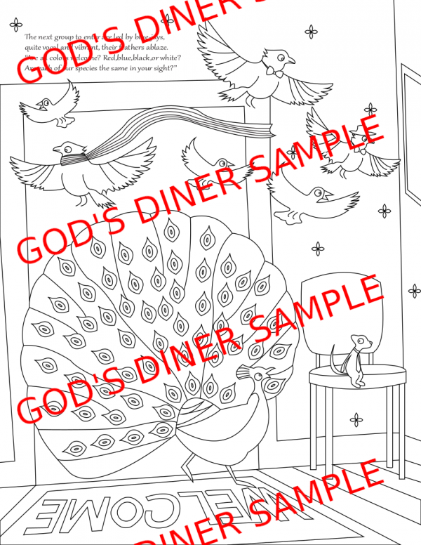 Coloring Page Sample