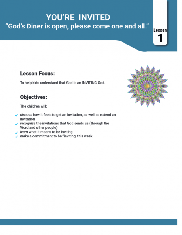 Curriculum Sample Page 4